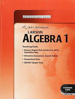 Image for Larson Algebra 1 Assessment Book (Common Core Edition)