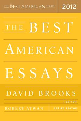 Image for The Best American Essays 2012 (The Best American Series )