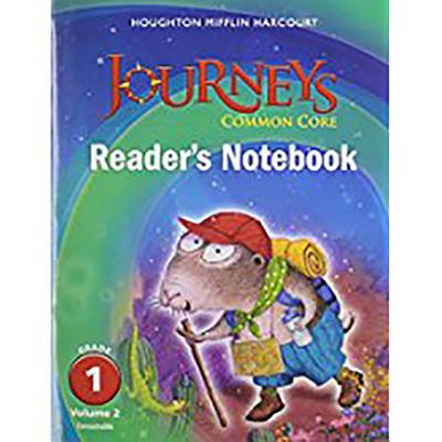Image for Journeys: Common Core Reader's Notebook Consumable Volume 2 Grade 1