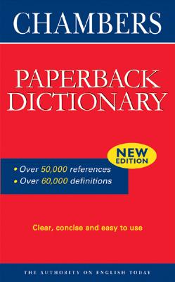 Image for Chambers Paperback Dictionary