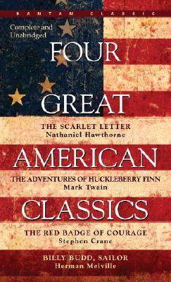 Four Great American Classics, Herman Melville, Mark Twain, Stephen Crane