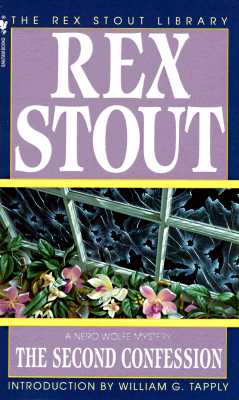 The Second Confession, Stout, Rex