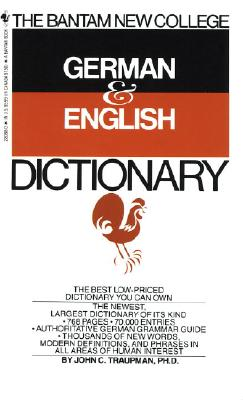 Image for The Bantam New College German & English Dictionary (English and German Edition)
