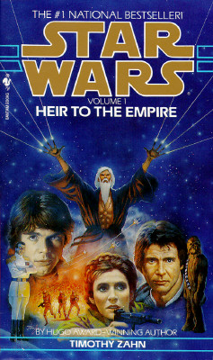 Heir to the Empire (Star Wars: The Thrawn Trilogy, Vol. 1), TIMOTHY ZAHN
