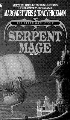 Serpent Mage (The Death Gate Cycle, Vol 4), MARGARET WEIS, TRACY HICKMAN