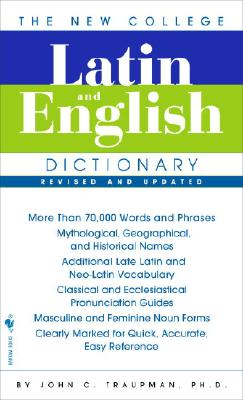 Image for Latin and English Dictionary