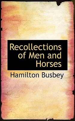 Image for Recollections of Men and Horses