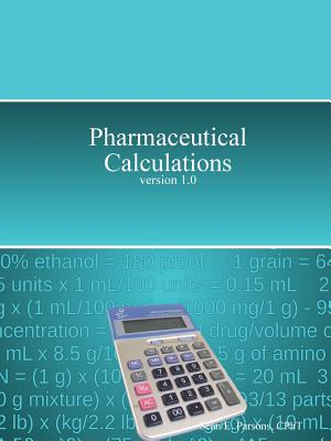 Pharmaceutical Calculations, Parsons, Sean
