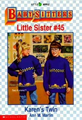 Image for Karen's Twin (Baby Sitters Little Sister, No 45)
