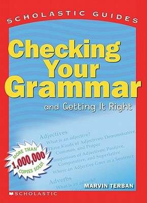 Image for Scholastic Guide: Checking Your Grammar: Scholastic Guides