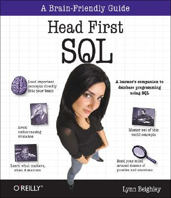 Image for HEAD FIRST SQL A BRAIN-FRIENDLY GUIDE