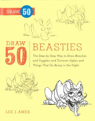 Draw 50 Beasties (Turtleback School & Library Binding Edition), Ames, Lee J.