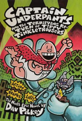 Captain Underpants And The Terrifying Return Of Tippy Tinkletrousers (Turtleback School & Library Binding Edition), Pilkey, Dav