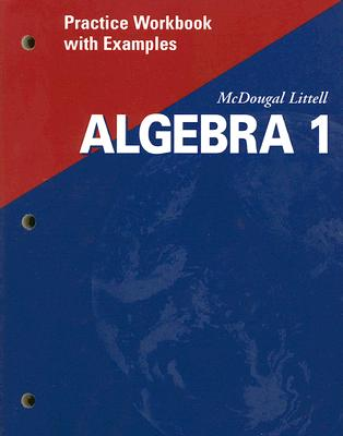 Image for Algebra 1: Practice Workbook with Examples