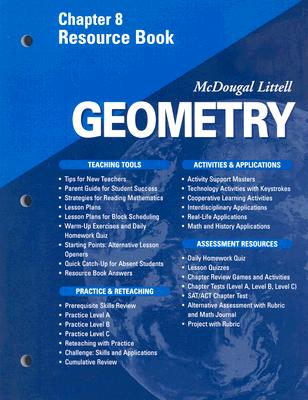 McDougal Littell - Geometry - Chapter 8 Resource Book, Boswell, Stiff Larson