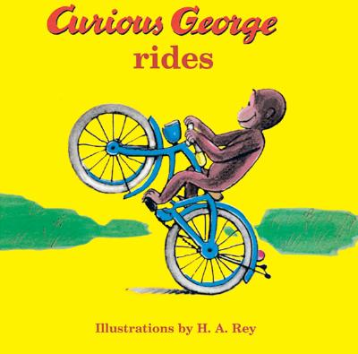 """Curious George Rides, """"Rey, Margret E."""""""