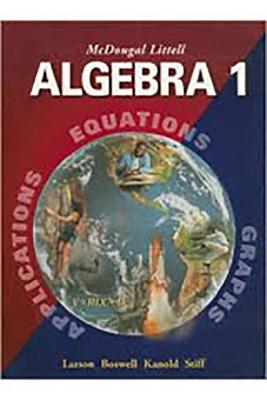 McDougal Littell High School Math: Notetaking Guide (Student) Algebra 1