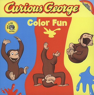 Image for Curious George Color Fun (CGTV Board Book): Die-cut Board Book