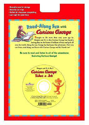 "Curious George Takes a Job Book & CD (Read Along Book & CD), ""Rey, H. A."""