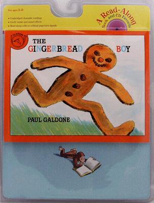 "The Gingerbread Boy Book & CD (Read Along Book & CD), ""Galdone, Paul"""