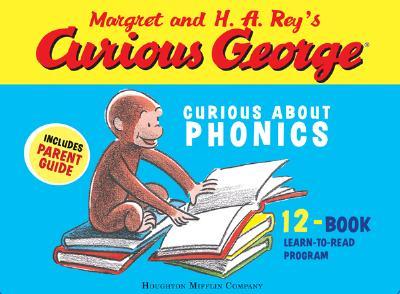 "Curious George Curious About Phonics 12 Book Set (Margret and H.a. Rey's Curious George), ""Rey, H. A.; Rey, Margret"""
