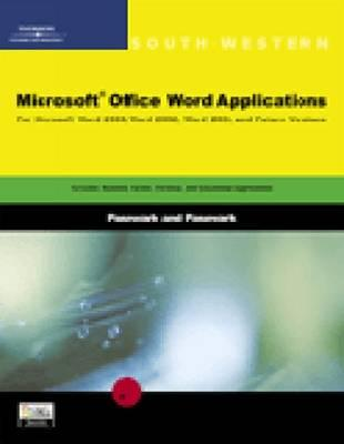 Image for Microsoft Office Word Applications (South-Western)