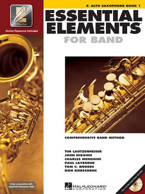 Image for Essential Elements 2000: Eb Alto Saxophone, Book 1