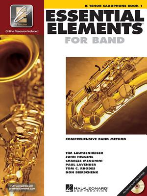 Image for Essential Elements for Band - Bb Tenor Saxophone Book 1 with EEi
