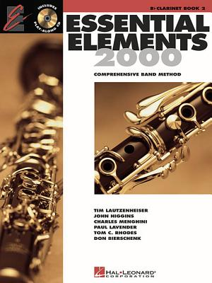 Image for Essential Elements 2000: Comprehensive Band Method, Bb Clarinet Book 2