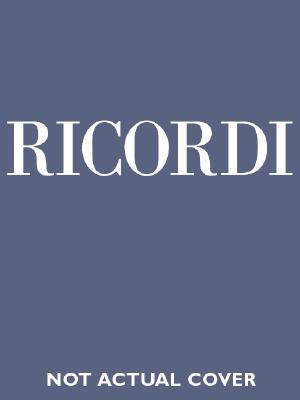 DON GIOVANNI VOCAL SCORE     CLOTH ITALIAN