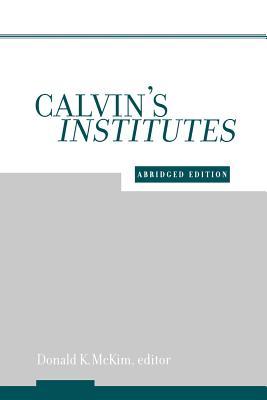 Image for Calvin's Institutes
