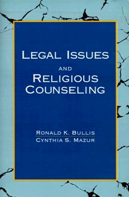 Image for Legal Issues and Religious Counseling