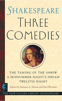 Three Comedies, William Shakespeare