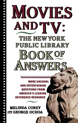 Image for Movies and TV: The New York Public Library Book of Answers