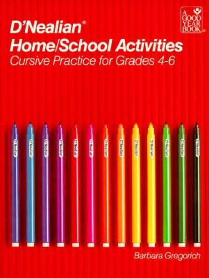 Dnealian Home School Activities, Barbara Gregorich
