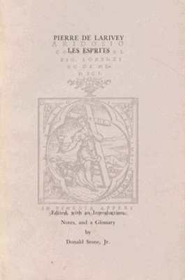 Image for Les Esprits (Harvard Texts from the Romance Languages)