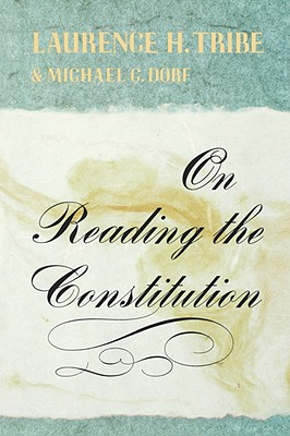 Image for ON READING THE CONSTITUTION