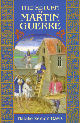 The Return of Martin Guerre, Davis, Natalie Zemon