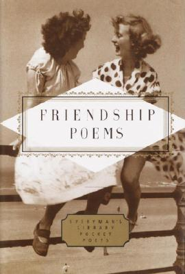 Image for Friendship Poems (Everyman's Library Pocket Poets Series)