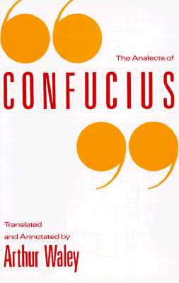 Image for The Analects of Confucius