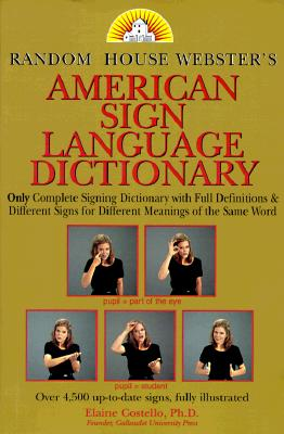 Image for Random House Webster's American Sign Language Dictionary