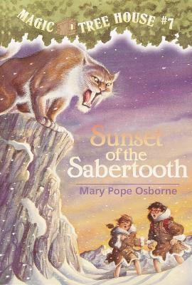 Image for Sunset of the Sabertooth  (Magic Tree House #7)