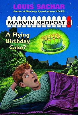 Flying Birthday Cake? (Marvin Redpost 6, paper), Louis Sachar