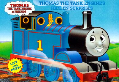 THOMAS THE TANK ENGINE'S HIDDEN SURPRISES   (LET'S GO LIFT-AND-PEEK), Awdry, Rev W