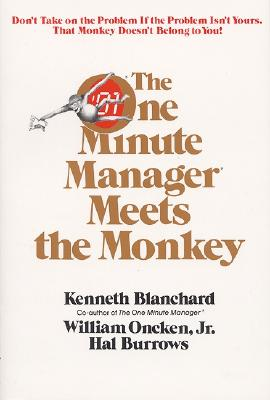 Image for ONE MINUTE MANAGER MEETS THE MONKEY, THE
