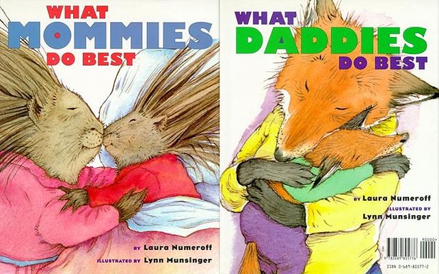 """What Mommies Do Best/ What Daddies Do Best, """"Numeroff, Laura"""""""
