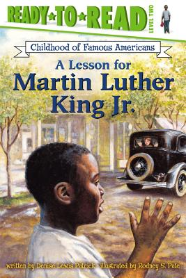 Image for A Lesson for Martin Luther King Jr. (Ready-to-read COFA)