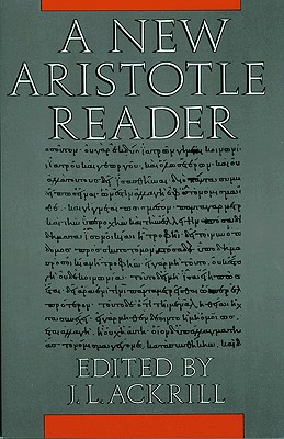 Image for A New Aristotle Reader