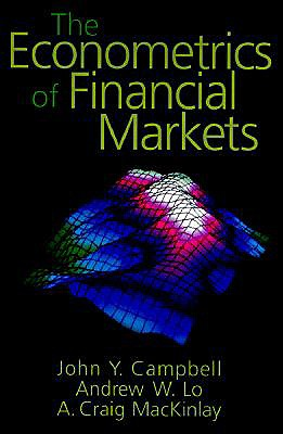 Image for The Econometrics of Financial Markets