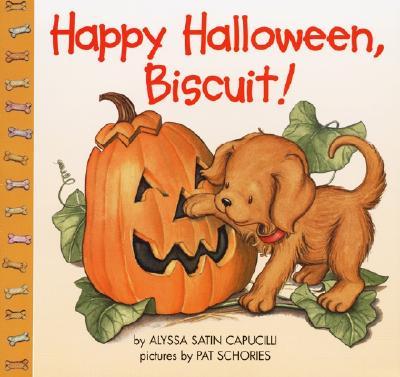 Happy Halloween, Biscuit!, ALYSSA SATIN CAPUCILLI, PAT SCHORIES